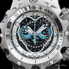 Invicta Men's Venom Hybrid SWISS MADE Master Calendar Chronograph Bracelet Watch