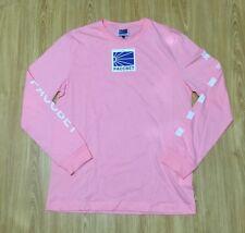 PACCBET Dawn Printed Long Sleeved T-Shirt (Pink) Gosha Rubchinskiy Size L