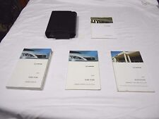 2009 LEXUS IS 350 / IS 250 OWNER MANUAL 4/PC.SET & LEXUS PREMIUM FACTORY CASE,,