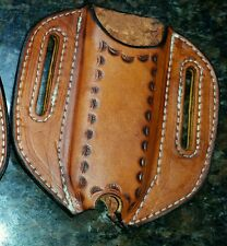 Custom Made Leatherman WAVE CHARGE Leather Case Sheath Holster Pancake Style