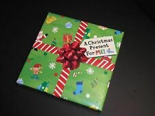 A Christmas Present for Me! by Lily Karr (2009, Board Book)