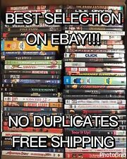 HUGE Collection Lot of 100 ASSORTED DVD Movies 100 DVDs Best Variety! Best Buy!