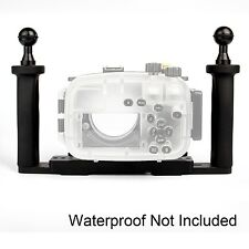 Universal Meikon Two Hands Aluminium Tray for Underwater Camera Housing Case