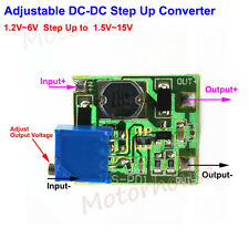 DC-DC Boost Step up Adjustable Converter Mini 1.2V~6V to 1.5V~15V 3V 3.3V 9V 12V
