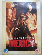 Antonio Banderas ONCE UPON A TIME IN MESSICO ~ Desperado Sequel UK DVD