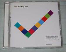 YES  Pet Shop Boys 2009 CD Album