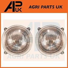 Massey Tractor Headlight Pair 135,165,175,290,298,575,590,699,50,etc Headlamp MF