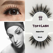 Black 100% Real Mink Long Natural Thick Eye Lashes False Eyelashes