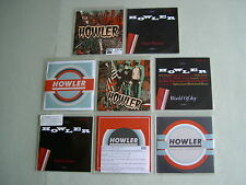 HOWLER job lot of 8 promo CD album/singles World Of Joy Don't Wanna Indictment