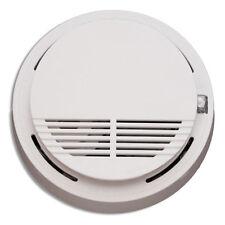 Detector De Humo Incendio Alarma Fotoeléctrico De Humo advertencia Inalámbrico Batería Flash