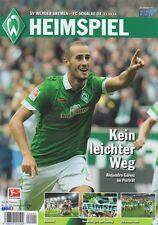 Werder Brême contre FC schalke 04 + 23.09.2014 + programme + stade MAGAZINE + NEUF