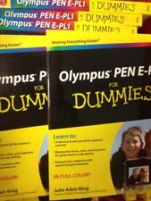 5-NEW Olympus PEN E-PL1 For Dummies  Computer/Tech Paperback Book