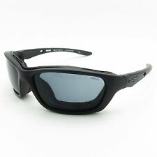 Wiley X Brick 854 Grey Matte Black Sunglasses New