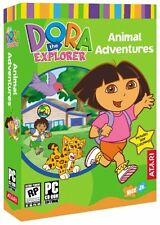 Dora the Explorer: Animal Adventures - Windows Computer Game (Ages 3 and Up) NEW