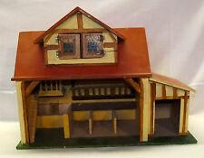 Antik Spielzeug Holz Pferdestall wohl Erzgebirge 30 er Jahre