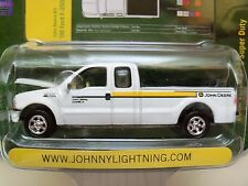JOHNNY LIGHTNING - JOHN DEERE - 2000 FORD F-250 SUPER DUTY PICKUP TRUCK  DIECAST