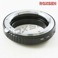 Macro Adapter for Nikon F AI Lens to Pentax K mount PK camera K200D K-5 r 01 50