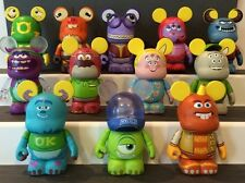 Vinylmation Monsters University Set Of 12 Includes Chaser