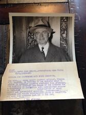 1938 NY Kings County DA Francis Geoghan in elevator Press Photo