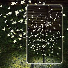 4ft Bianco LED Solare Blossom BONSAI GIARDINO ESTERNO LUCI DI NATALE