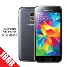 Brand New Samsung Galaxy S5 Mini G800F 4G Black Unlocked 16GB Mobile phone