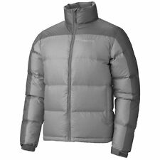 $225 NWT Marmot Men's Ouray Guides 700 Fill Duck Down Defender Jacket Gray Small