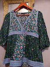 MARC JACOBS ESPRIT BOHEME 36 blouse coton TBE