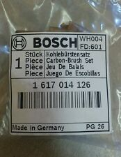 Bosch Genuine Brush Set Part #1617014126 for 11311EVS 11316EVS 11223EVS 11245EVS