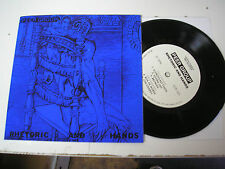 "Peer Group - Rhetoric and Hands 7"" EP new w/ download punk post-punk Minutemen"