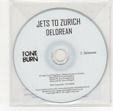 (FE610) Jets To Zurich, Delorean - 2013 DJ CD