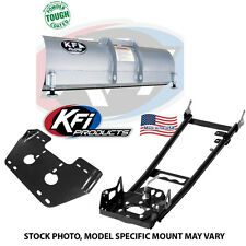 "KFI 66"" Snow Plow Kit Blade/Push Tube/Mount Combo Polaris"