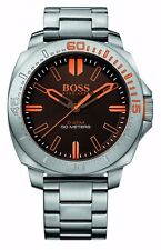 Hugo Boss Orange 1513296 Men's Silver Sao Paulo Stainless Steel Analog Watch