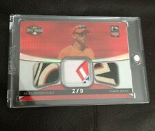 2008 TOPPS TRIPLE THREADS ALEX RODRIGUEZ TRIPLE ALL STAR GAME PATCH 2/9 RARE