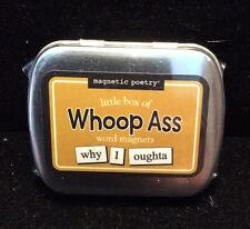 Little Box of Whoop Ass Word Magnets