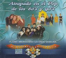 CD - Atrapado En El Pop De Los 80's Y 90's NEW 3 Cd's FAST SHIPPING !