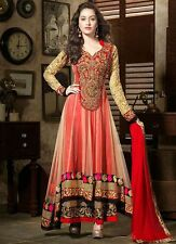 Indian Pakistani Ethnic Anarkali Salwar Kameez Designer Suit Bollywood Dress 102