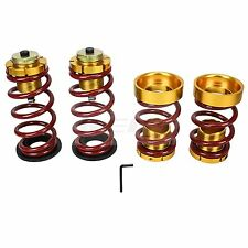 JDM ADJUST SUSPENSION COIL LOWERING SPRING SLEEVE For Civic 06-11 FA FG RED GOLD