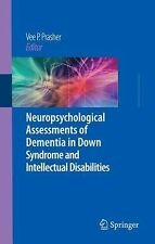 Neuropsychological Assessments of Dementia in down Syndrome and Intellectual...