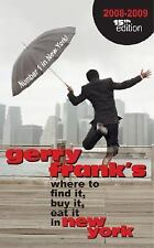 Gerry Frank's Where to Find it, Buy it, Eat it in New York 2008-2009 (Gerry