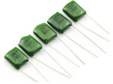 20PCS x 100V 0.1uF 100nF 100000pF 2A104 J ±5% Mylar Film Capacitors Radial NEW