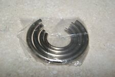 ROUND MAIN SPRING CLAMPS NEW MANTEL CLOCK PARTS