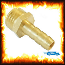 "1/4"" BSP to 6mm Brass Male Barb Hose Tail Fitting Fuel Air Gas Water Hose Oil"