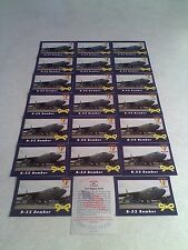 *****B-52 Bomber*****  Lot of 21 cards