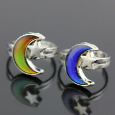 MOOD CHANGING RING Change Color Emotional Jewelry Vintage Retro Style Adjustable