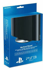 Official Sony PS3 Playstation 3 Super Slim Metal Vertical Console Base Stand NEW