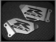 HEEL PLATES for SUZUKI GSXR 600 & 750 K4 K5, 2004 to 2005 (POLISHED FOOT GUARDS)