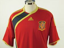 SPAIN Soccer Jersey National Team OOP HTF 2009 Adidas Adult 2XL EUC