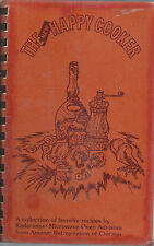 *THE NEW HAPPY COOKER COOK BOOK *AMANA REFRIGERATION OF CHICAGO *VINTAGE RECIPES