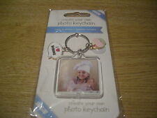 PHOTO KEYCHAIN KEYRING + 2 BAKING CHARMS BAKING THEME - NEW