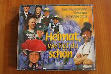 Heimat, wie bist du schön eine musikalische Reise mit beliebten Stars 1998 6 CDs